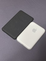 Size comparison with a Mophie MagSafe battery pack