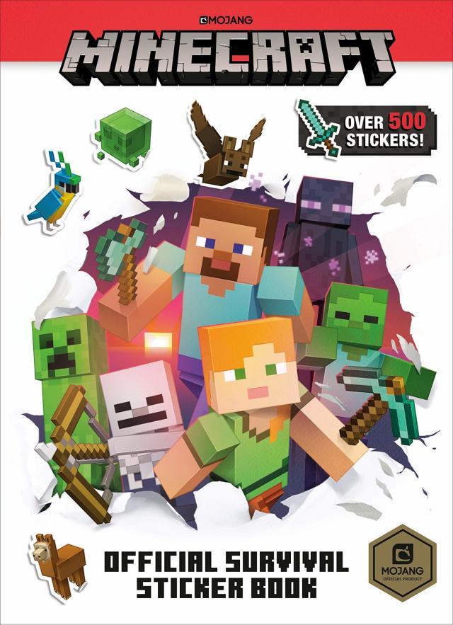 Minecraft Sticker Survival Reco