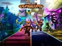 Minecraft Dungeons is looking good with 'Echoing Void' now releasing