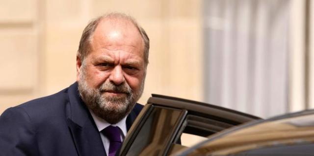 Le garde des sceaux, Eric Dupond-Moretti, le 7 juillet 2021 au palais de l'Elysée, à Paris.