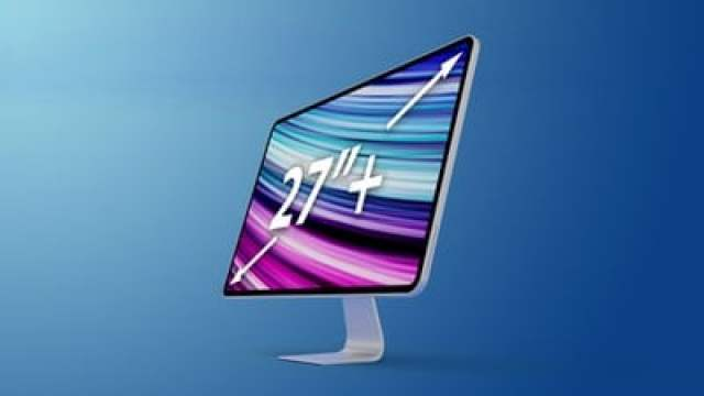 2020 iMac Mockup Feature 27 inch text 1