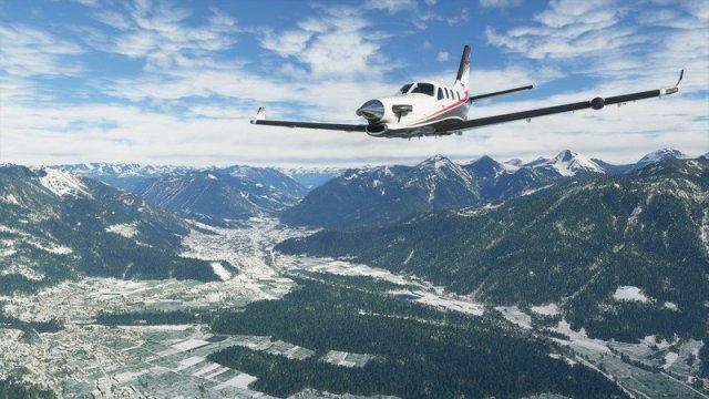 Microsoft Flight Simulator Tbm Snow