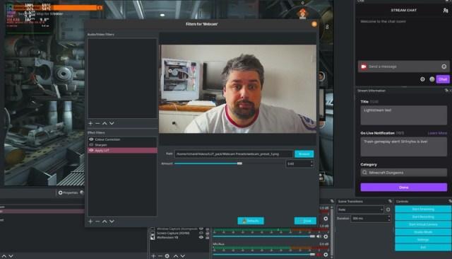 OBS Studio filters