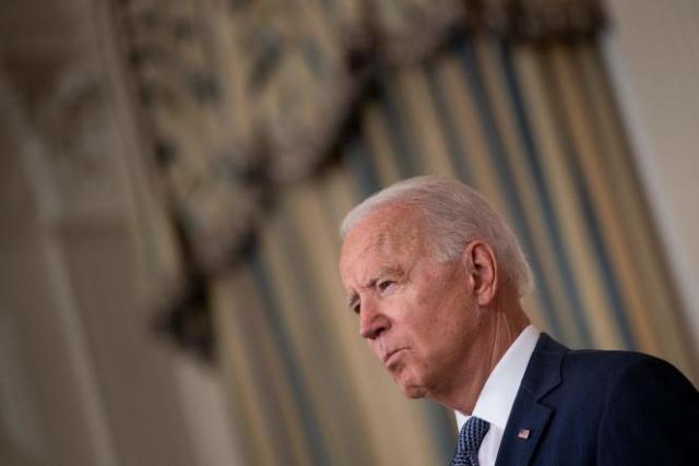 Joe Biden à la Maison Blanche, à Washington, DC,le 9 juillet 2021.