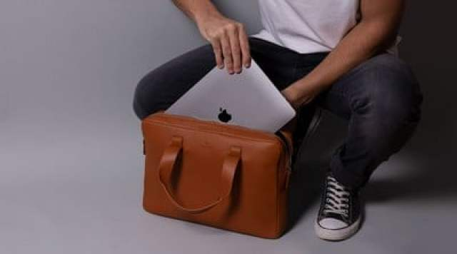 Harber London Everyday Leather Briefcase 3