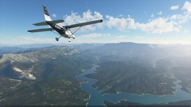 Microsoft Flight Simulator Cessna C172 Greece