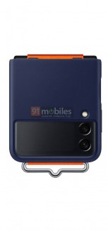 Official Samsung Galaxy Z Flip3 case (leaked image)