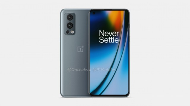 OnePlus Nord 2 5G leaked render
