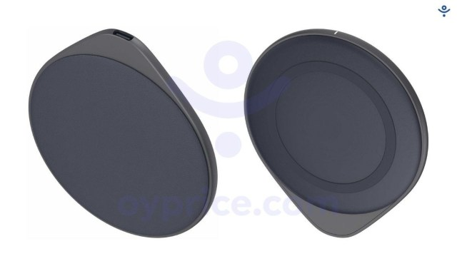 Oppo's upcoming magnetic wireless charger gets shown in leaked renders