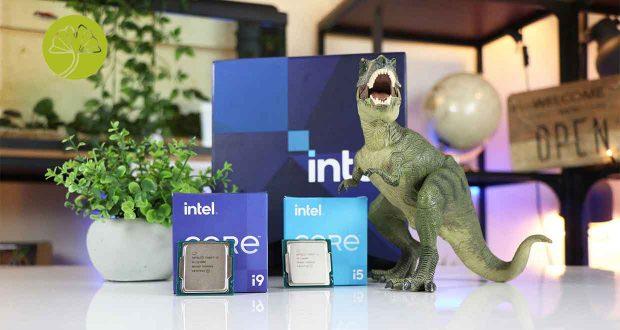 Processeurs Intel Core i5 et Core i9 Rocket Lake-S