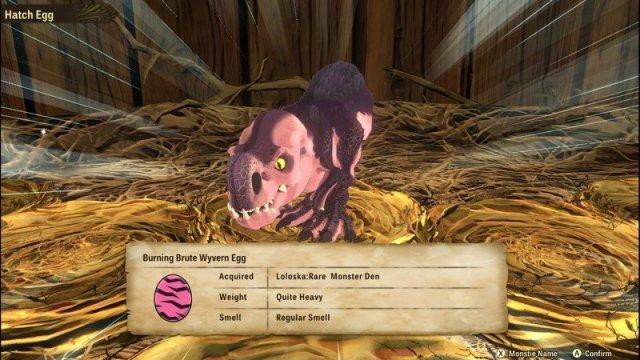 Monster Hunter Stories 2 Anjaneth Egg