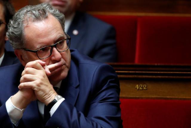Richard Ferrand, le président de l'Assemblée, lors d'une session de questions au gouvernement à Paris, le 12 septembre 2018.