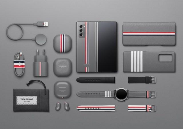 The Samsung Galaxy Z Fold2 Thom Browne limited edition bundle