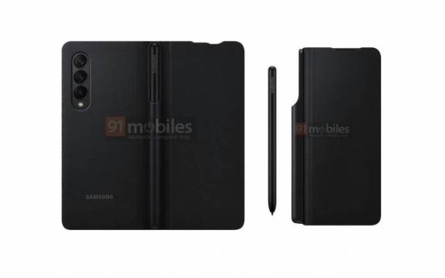 Samsung Galaxy Z Fold Official Case Render 1