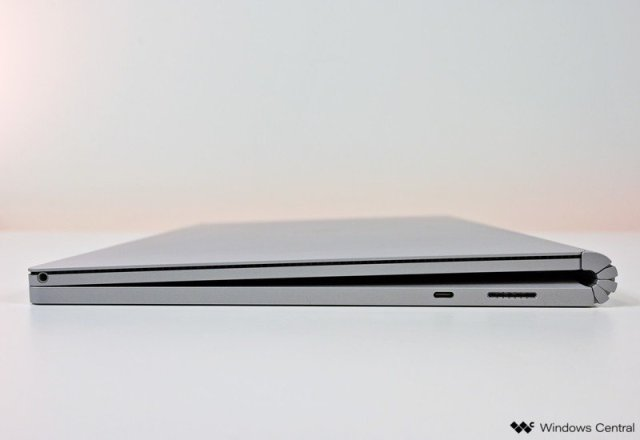 Surface Book 3 Review Side Ports Type C