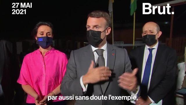 Le 4 décembre 2020, il déclarait sur Brut qu'il était opposé à la vaccination obligatoire. Voilà comment la position d'Emmanuel Macron a évolué.
