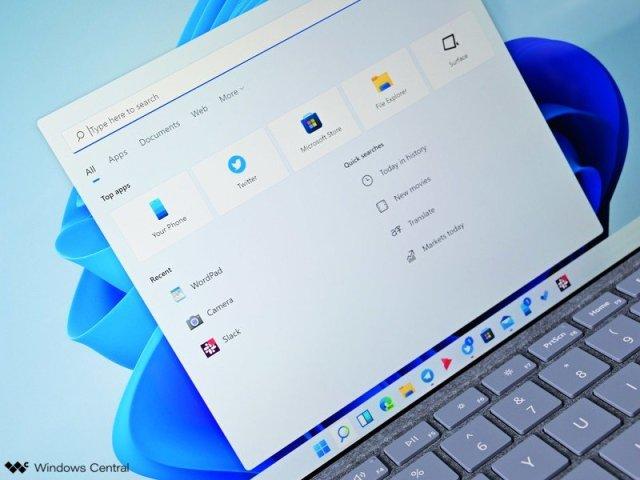 Windows 11 Search Light