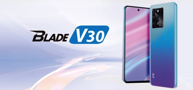 ZTE Blade V30 series launches with 64MP cameras and 5,000 mAh batteries