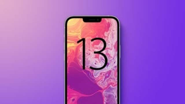 iphone 13 purple with text