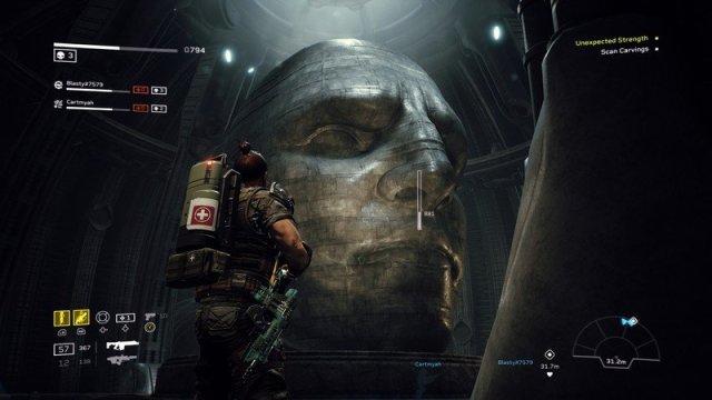 Aliens Fireteam Elite Statue