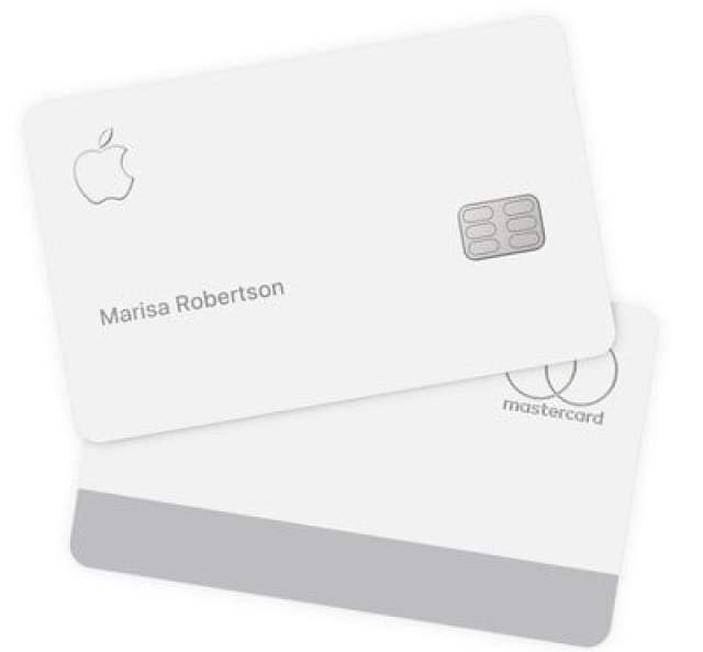 apple card front back