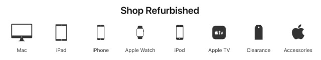 Apple Store FR et reconditionné