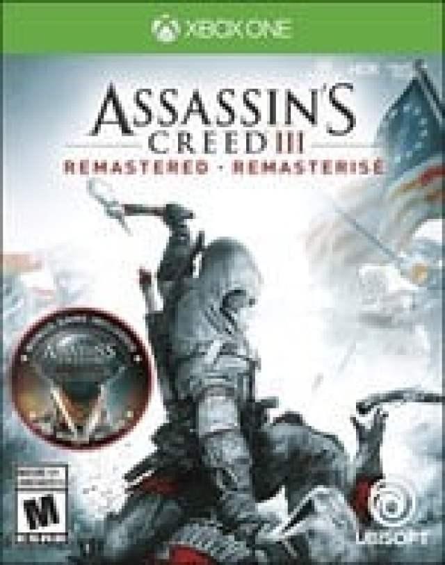 Assassins Creed 3 Remastered Box Art