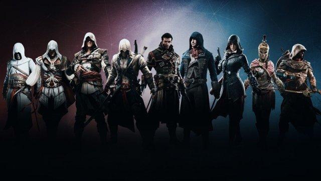 Assassins Creed All Main Assassins Hero
