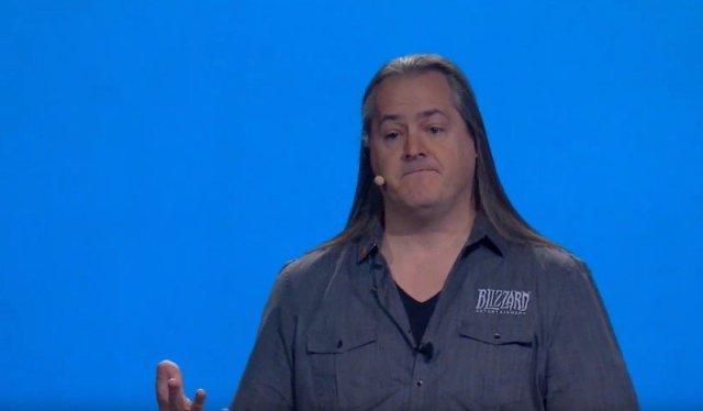 J. Allen Brack at BlizzCon