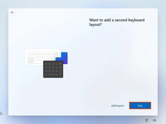 Skip secondary keyboard layout