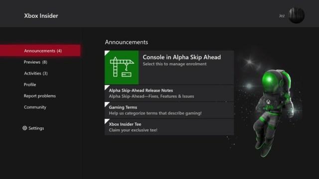 Xbox Insider Program August 2021