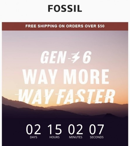 Fossil's Gen 6 smartwatches will be unveiled on August 30