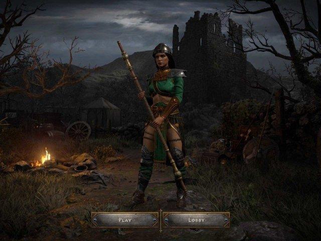 Diablo 2 Resurrected Sorceress