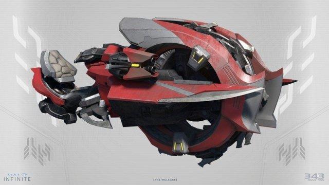Halo Infinite Chopper Concept