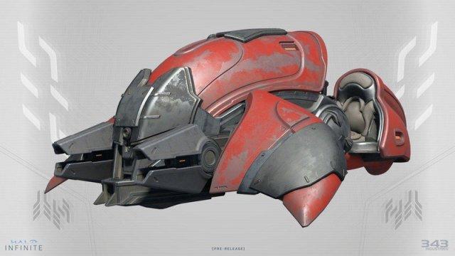 Halo Infinite Ghost Concept