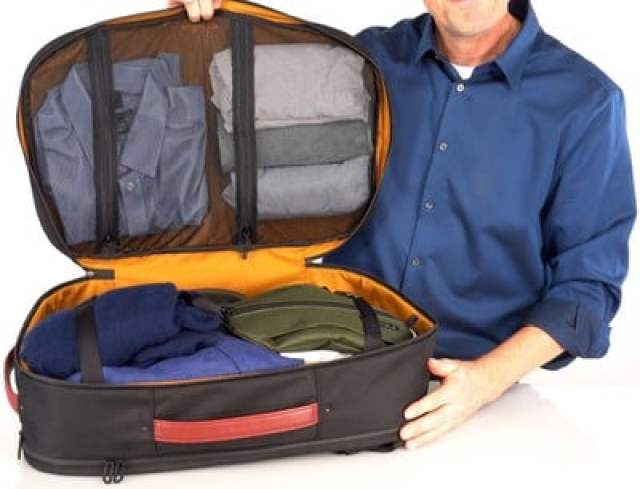 air travel personal compartment