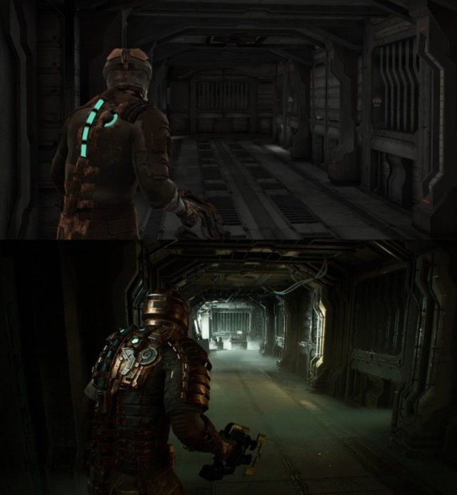 Dead Space Remake Early Comparison
