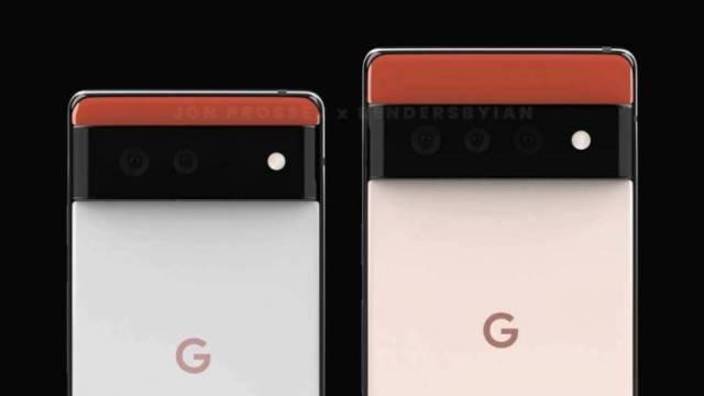 Pixel 6 Series Camera Sensor
