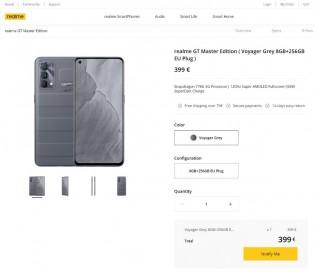 Realme GT Master leaked price