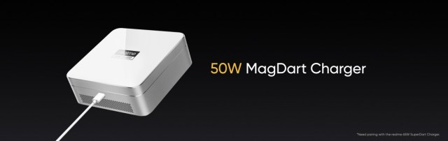 The MagDart 50W charger is almost as fast as wired 50W chargers