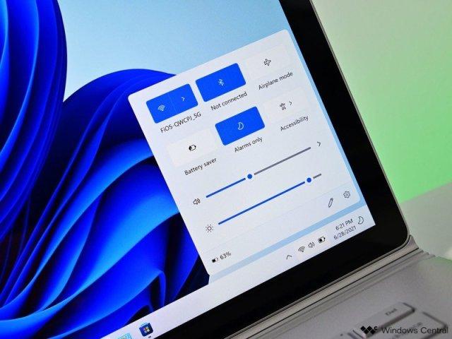 Windows 11 Quick Actions