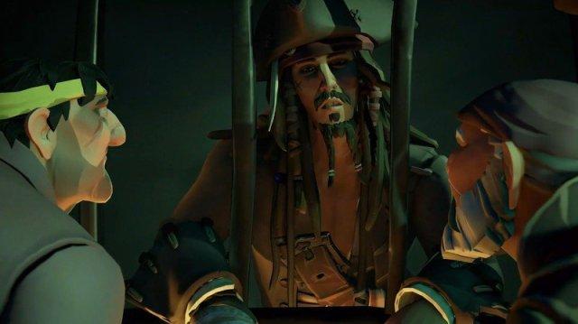Sea Of Thieves Jack Sparrow Disney