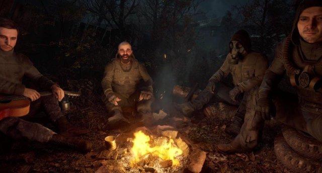 Stalker 2 Campfire