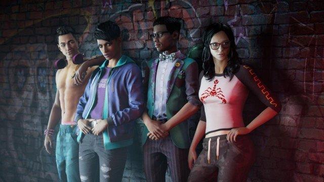 Saints Row Characters