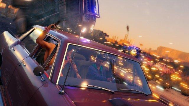 Saints Row Car Pursuit
