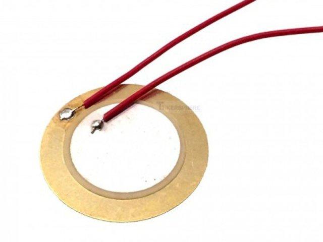 27mm Piezo Element Vibration Knock Sensor