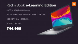 The RedmiBook 15 e-Learning Edition will be available in India from August 6 from INR 42,000