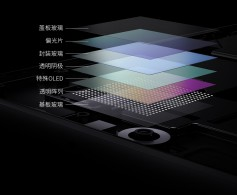 ZTE Axon 30 5G display and UD camera