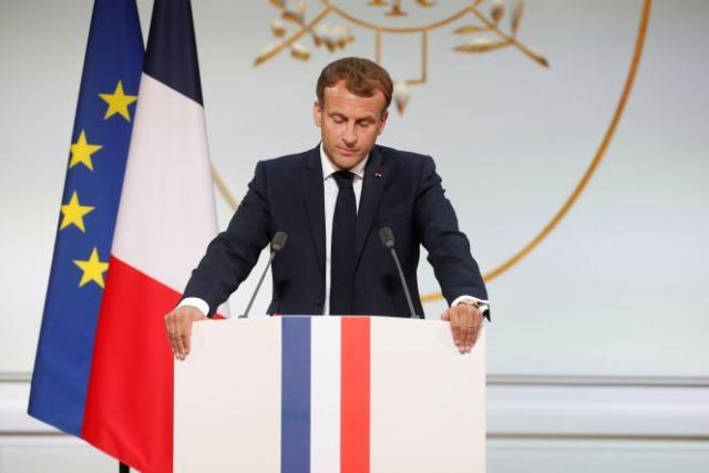 Emmanuel Macron, le 20 septembre à l'Elysée.