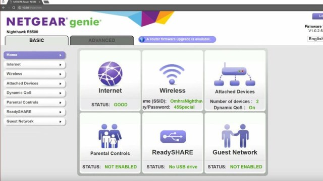 Netgear Change Password Step